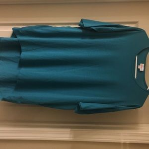Solid Teal Irma size S